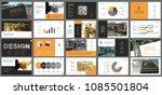 orange  white and black... | Shutterstock .eps vector #1085501804