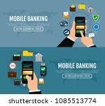 money transaction  business ... | Shutterstock .eps vector #1085513774