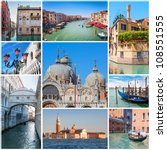 Collage Of Images With Venice ...