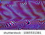 glitch universe background. old ... | Shutterstock . vector #1085531381