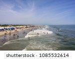 tybee island  georgai   may 5 ... | Shutterstock . vector #1085532614