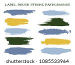 hipster label brush stroke... | Shutterstock .eps vector #1085533964