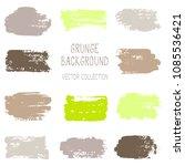 grunge brush stroke texture... | Shutterstock .eps vector #1085536421