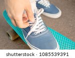 close up view of the young... | Shutterstock . vector #1085539391