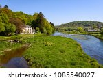 semois river seen from bridge... | Shutterstock . vector #1085540027