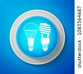 white economical led... | Shutterstock .eps vector #1085564687