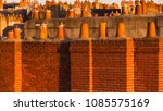 view across roofscape of... | Shutterstock . vector #1085575169