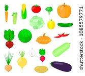 vector illustration. set of...   Shutterstock .eps vector #1085579771