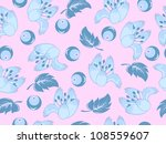 abstract vector floral pattern... | Shutterstock .eps vector #108559607