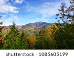 giant mountain seen from... | Shutterstock . vector #1085605199