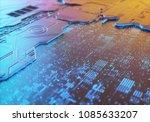 3d illustration. abstract 3d... | Shutterstock . vector #1085633207