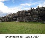 ancient sacsayhuaman ruins... | Shutterstock . vector #10856464