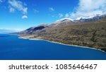 aerial view of lake pukaki in... | Shutterstock . vector #1085646467