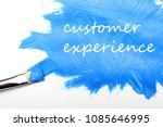 customer experience business... | Shutterstock . vector #1085646995