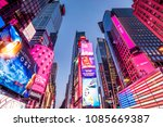 new york  usa   april 20  2018  ... | Shutterstock . vector #1085669387