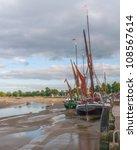 Maldon Essex Uk Thames Barge