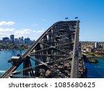 harbour bridge view from the... | Shutterstock . vector #1085680625
