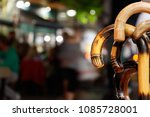 closeup of the head of walk... | Shutterstock . vector #1085728001