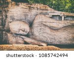 Recumbent Image Of A Buddha...
