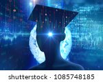 3d rendering of virtual human... | Shutterstock . vector #1085748185