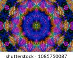 creative decorative background. ... | Shutterstock . vector #1085750087
