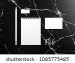 photo of branding identity mock ... | Shutterstock . vector #1085775485