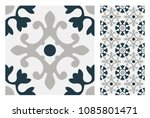 vintage tiles patterns antique... | Shutterstock .eps vector #1085801471