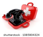 Telephone Inside First Aid Kit...