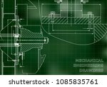 technical illustration.... | Shutterstock .eps vector #1085835761
