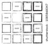 vector frames. squares for... | Shutterstock .eps vector #1085868347