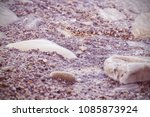 water and stones on the sea... | Shutterstock . vector #1085873924