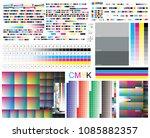 cmyk standard offset vector... | Shutterstock .eps vector #1085882357