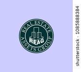 real estate assets group emblem ...   Shutterstock .eps vector #1085888384