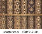 vector arabesque patterns.... | Shutterstock .eps vector #1085912081