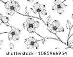 Seamless Flower Pattern...