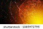 global warming conceptual... | Shutterstock . vector #1085972795