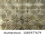 close up metal surface with... | Shutterstock . vector #1085977679