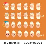 grandparents emotion collection ... | Shutterstock .eps vector #1085981081