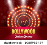 bollywood indian cinema film... | Shutterstock .eps vector #1085989439