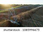 aerial image of center pivot... | Shutterstock . vector #1085996675
