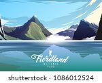 amazing vector illustration.... | Shutterstock .eps vector #1086012524