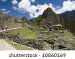 Machu Piccu - stock photo