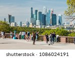 moscow  russia   may 7  2018 ... | Shutterstock . vector #1086024191