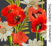 art vintage blurred colorful...   Shutterstock . vector #1086040541