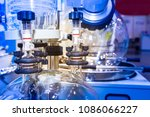 chemical production. devices...   Shutterstock . vector #1086066227