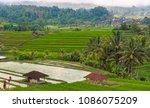 looking down over indonesian... | Shutterstock . vector #1086075209