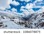 high in the skagway mountains... | Shutterstock . vector #1086078875