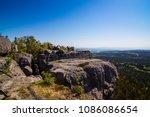 beautiful view on szczeliniec...   Shutterstock . vector #1086086654