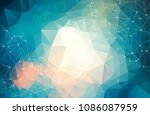 abstract futuristic background... | Shutterstock .eps vector #1086087959