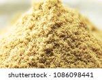 nuka powder.  mound or heap of... | Shutterstock . vector #1086098441